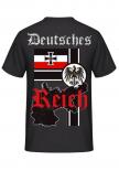 Deutsches Reich - T-Shirt Rückenmotiv