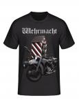 Wehrmacht Motorrad - T-Shirt
