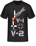 V-1 + V-2 Rocket T-Shirt