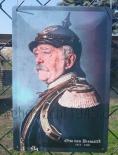 Otto von Bismarck - Blechschild