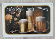 Bier - Blechschild II