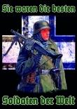 Sie waren die besten Soldaten der Welt - Aufkleber