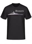 Schlachtschiff Bismarck - T-Shirt