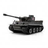 1/16 RC Tiger I Metallunterwanne, Metallgetriebe, grau Tarnmuster BB-Schuss