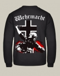 Wehrmacht Soldat Balkenkreuz - Pullover