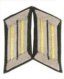 WH KRAGENSPIEGEL Offizier der Kavallerie/Aufklärer GOLD-GELB