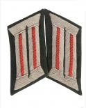 WH KRAGENSPIEGEL Offizier der Artillerie. ROT
