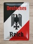 Deutsches Reich - Blechschild II