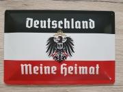Deutschland - Meine Heimat - Blechschild II