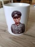 3x Erwin Rommel in Farbe - Tasse