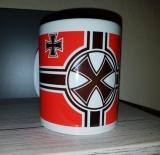Reichskriegsflagge Eisernes Kreuz - Tasse