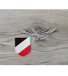 Wehrmacht Helmabzeichen für die Luftwaffe