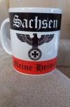 Sachsen(Wunschname möglich) - Meine Heimat - Tasse(Rundumdruck)