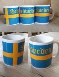 Schweden - 4 Tassen(Rundumdruck)