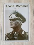 Erwin Rommel Blechschild II