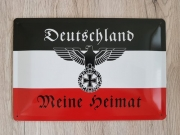 Deutschland Meine Heimat - Blechschild