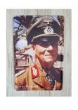 Erwin Rommel Blechschild