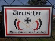 Deutschland, meine Heimat, mein Vaterland - Blechschild