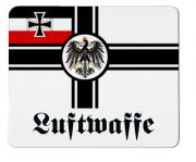 Reichskriegsflagge Deutsches Reich Luftwaffe - Mauspad/Untersetzer