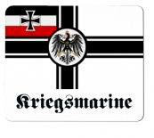 Reichskriegsflagge Deutsches Reich Kriegsmarine - Mauspad/Untersetzer