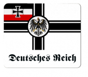Reichskriegsflagge Deutsches Reich - Mauspad/Untersetzer
