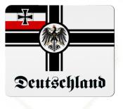 Reichskriegsflagge Deutsches Reich Deutschland Mousepad