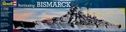 Schlachtschiff Bismarck Modellbausatz Maßstab 1:700