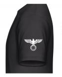 Reichsadler Eisernes Kreuz linker Ärmel T-Shirt