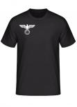 Reichsadler Eisernes Kreuz rechte Brust T-Shirt