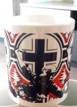 Wehrmacht Soldat im Balkenkreuz - Tasse