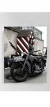 Wehrmacht Motorrad - Kunstdruck - Poster 80x60cm