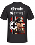 Erwin Rommel Barcross Back T-Shirt