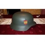 Wehrmacht Division Azul División Española de Voluntarios (Spanien) HELM M35 mit Helmabzeichen