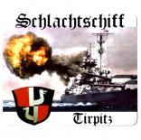 Schlachtschiff Tirpitz - Mauspad/Untersetzer